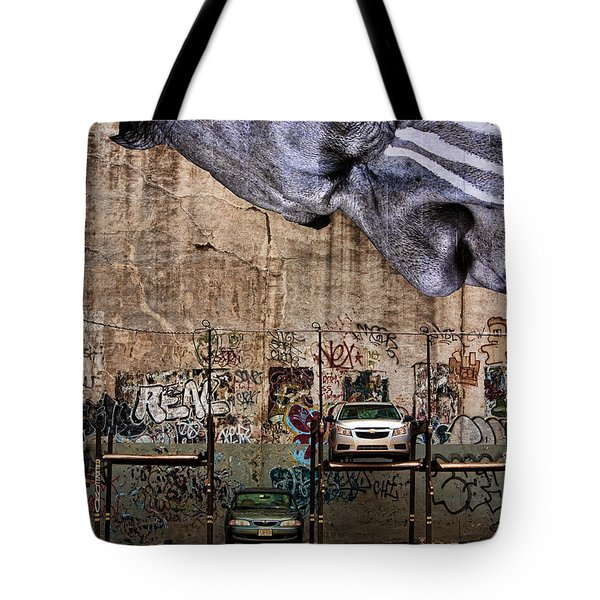 Cannot Look Tote Bag by Joanna Madloch