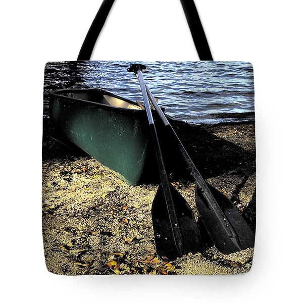 Canoe Tote Bag by Cheryl Young