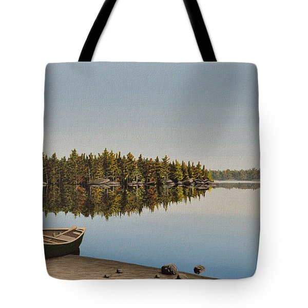 Canoe The Massassauga Tote Bag by Kenneth M  Kirsch