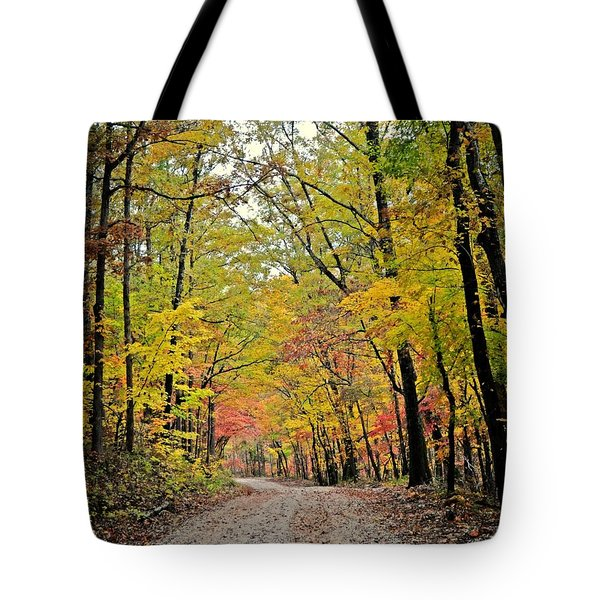 Canopy Of Yellow Tote Bag by Marty Koch