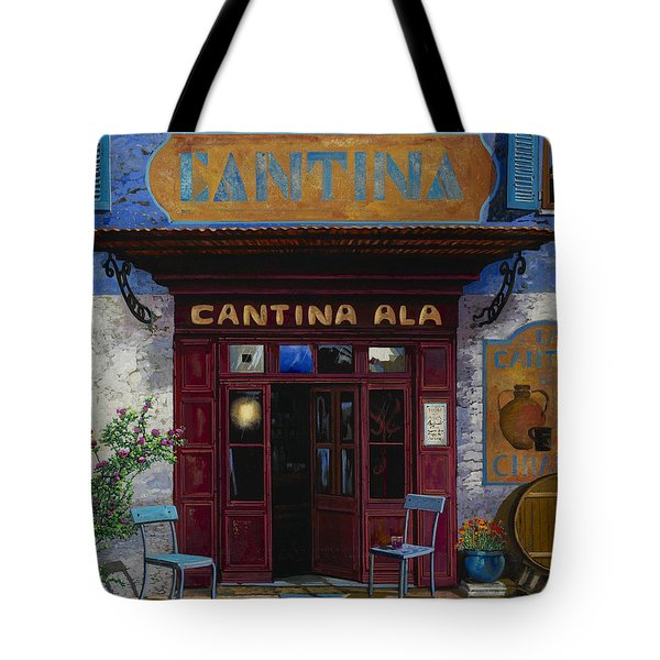 cantina Ala Tote Bag by Guido Borelli