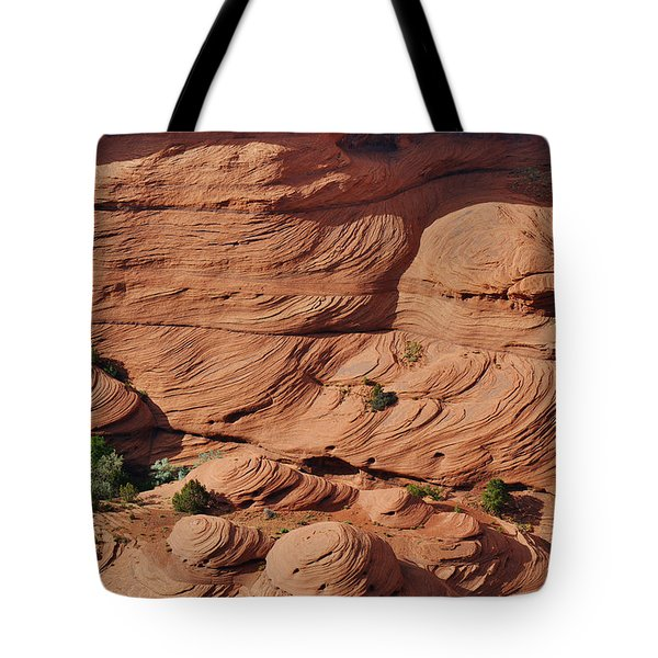 Canyon De Chelly - A Fascinating Geologic Story Tote Bag by Christine Till