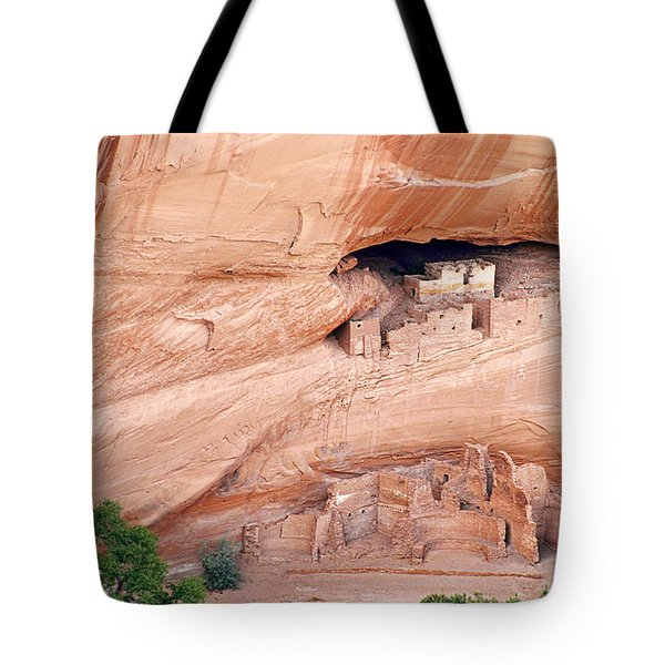 Canyon de Chelly White House Ruins Tote Bag by Christine Till