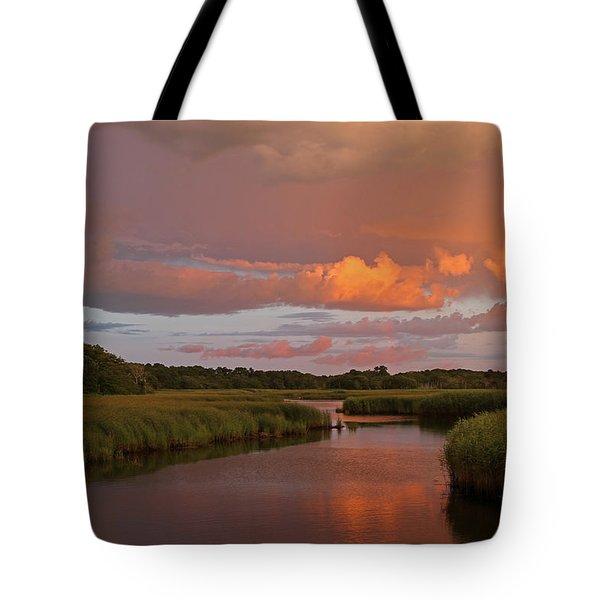 Cape Cod Bells Neck  Tote Bag by Juergen Roth
