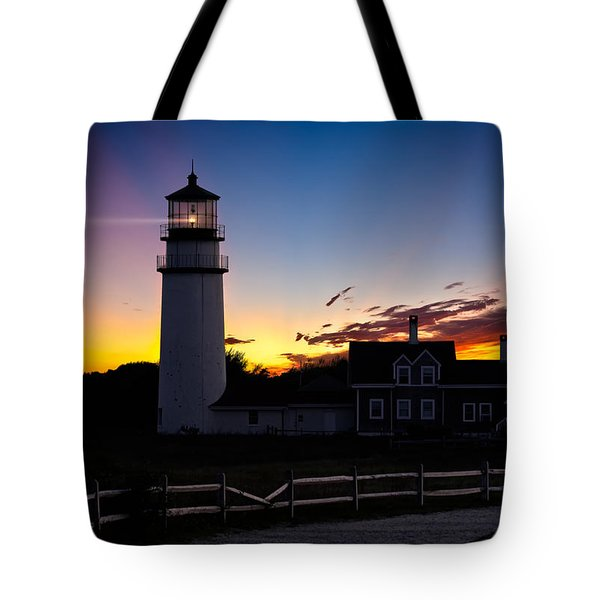 Cape Cod Light Tote Bag by Bill  Wakeley