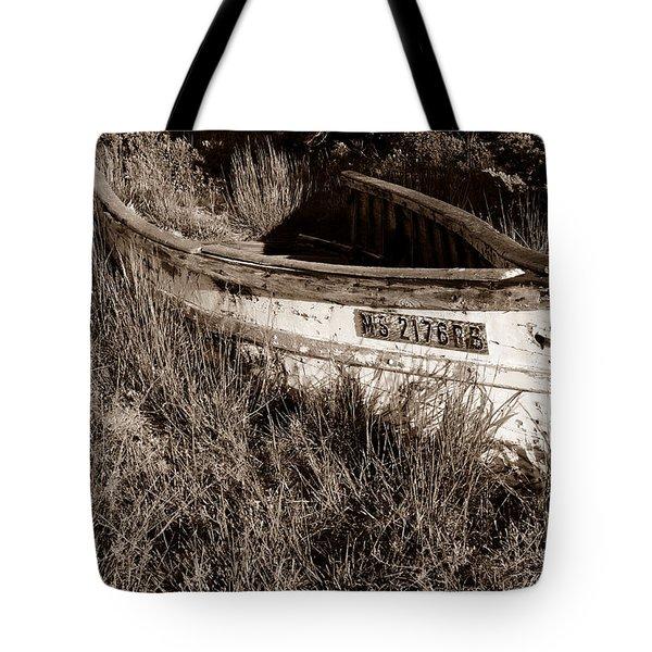 Cape Cod Skiff Tote Bag by Luke Moore