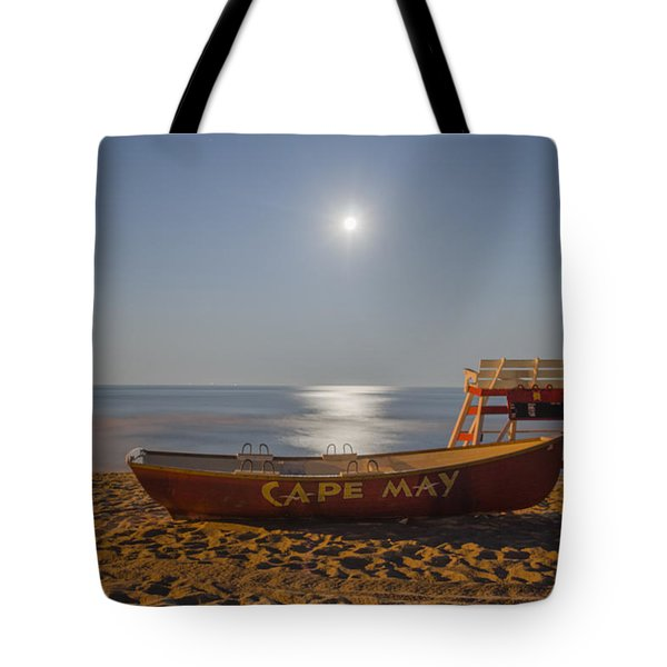 Cape May by Moonlight Tote Bag by Bill Cannon