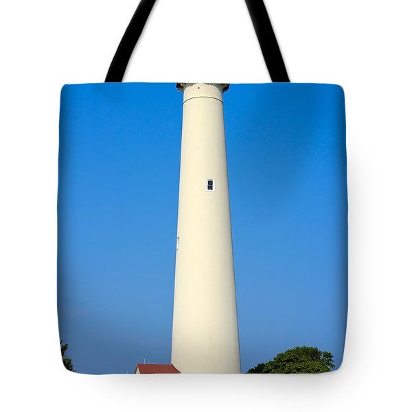 Cape May Lighthouse Tote Bag by Anthony Sacco