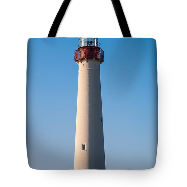 Cape May Lighthouse Tote Bag by Jennifer Ancker