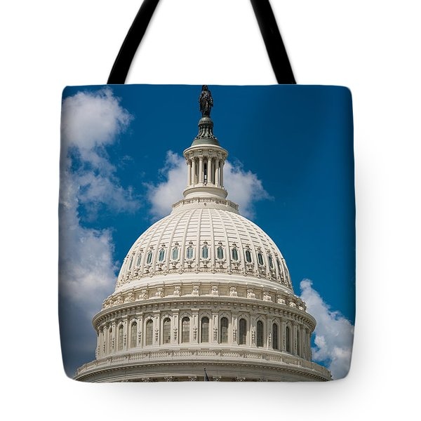 Capital Dome Washington D C Tote Bag by Steve Gadomski
