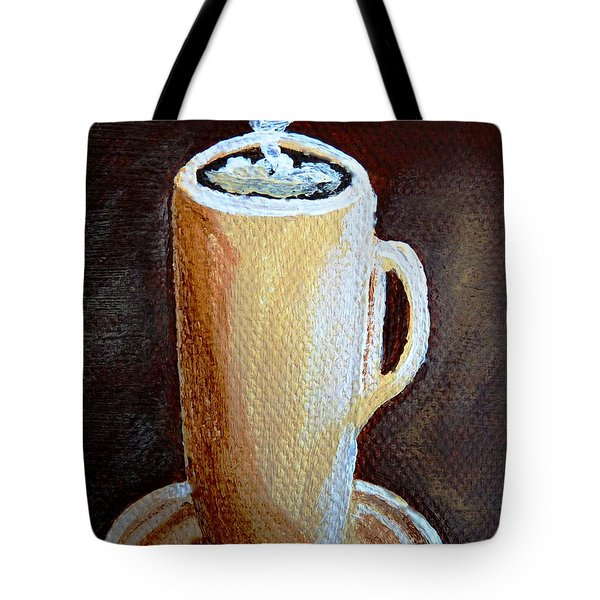 Cappuccino 3 Tote Bag by Christine Huwer