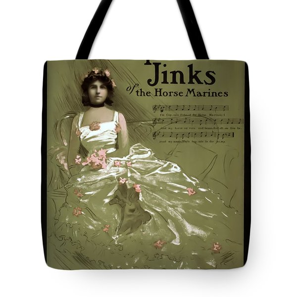 Captain Jinks Tote Bag by Terry Reynoldson