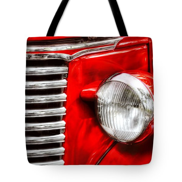 Car - Chevrolet Tote Bag by Mike Savad