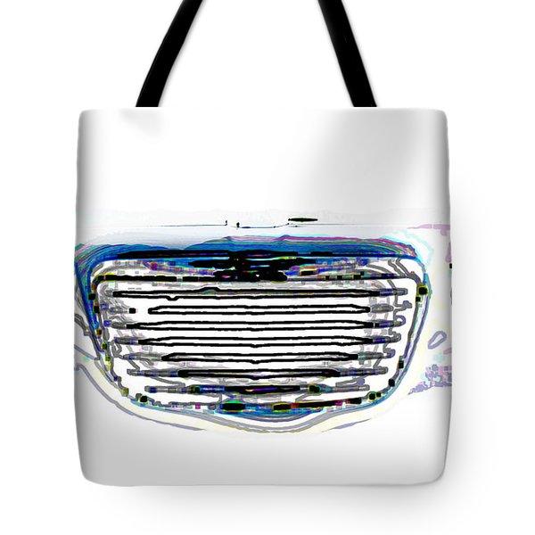 Car Mri Tote Bag by Tom Gari Gallery-Three-Photography