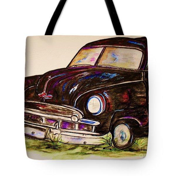Car Of Character Tote Bag by Eloise Schneider