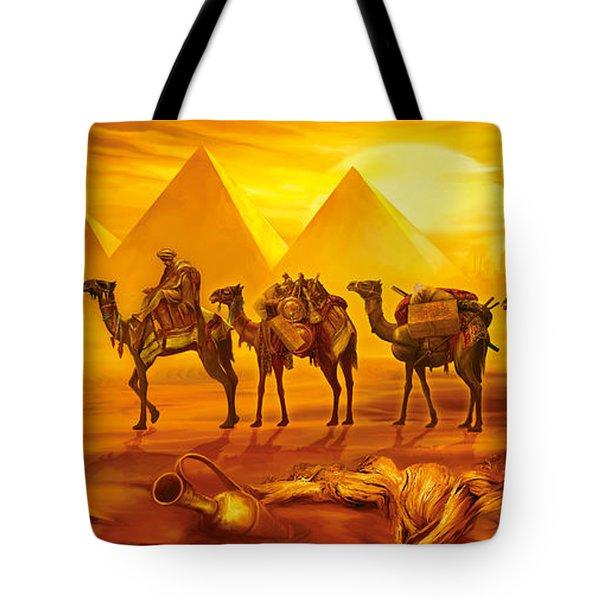 Caravan Tote Bag by Jan Patrik Krasny