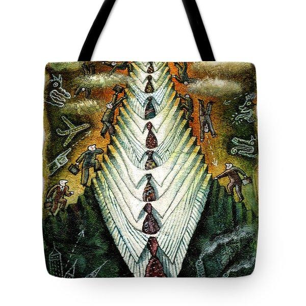 Career Tote Bag by Leon Zernitsky