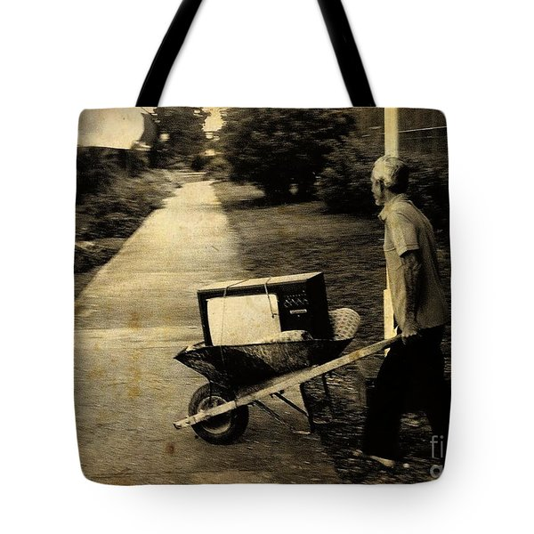 Careful With That Its Expensive Tote Bag by John Malone Halifax photographer