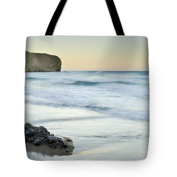 Caresses By The Sea Tote Bag by Guido Montanes Castillo