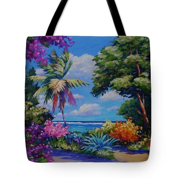 Caribbean Colours Tote Bag by John Clark