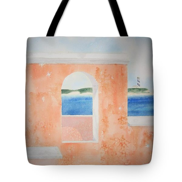 Caribbean Guard Tote Bag by Jeff Lucas