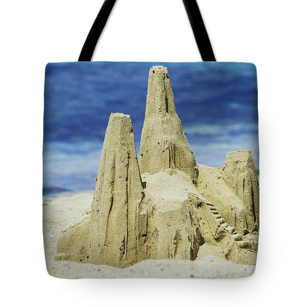 Caribbean Sand Castle  Tote Bag by Betty LaRue
