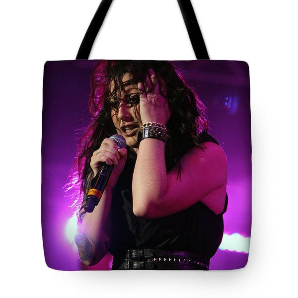 Carly In Concert Tote Bag by Shoal Hollingsworth