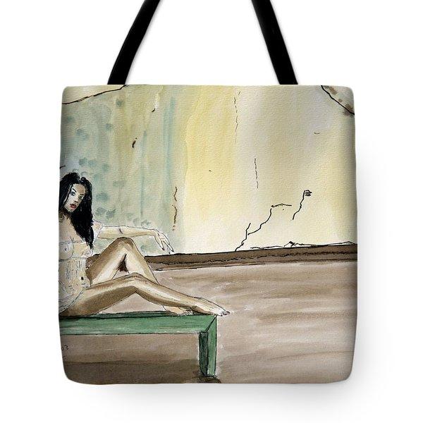 Carmen. Tote Bag by Shlomo Zangilevitch