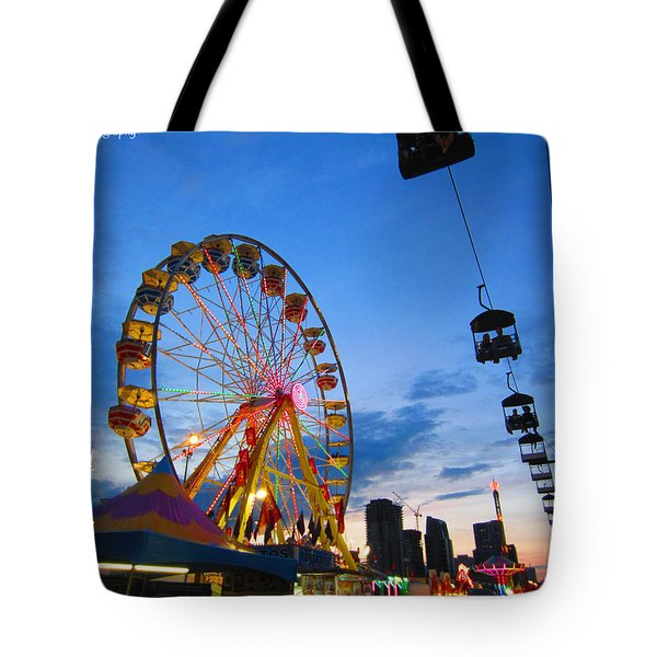 Carnival Colours Tote Bag by Kaeleigh Gray