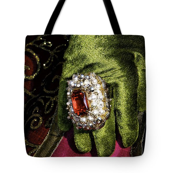 Carnival Glamour Tote Bag by John Rizzuto