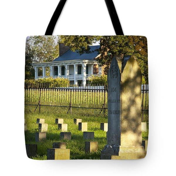 Carnton Plantation Tote Bag by Brian Jannsen
