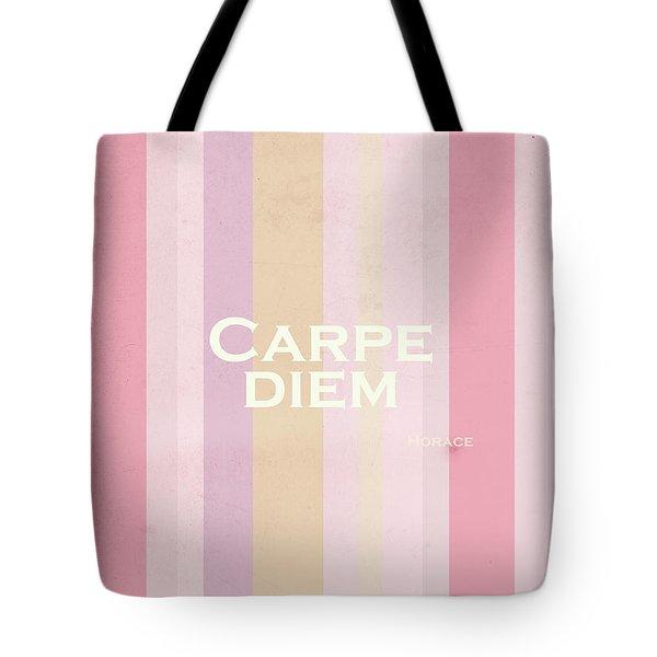 Carpe Diem Series - Horace Tote Bag by Andrea Anderegg