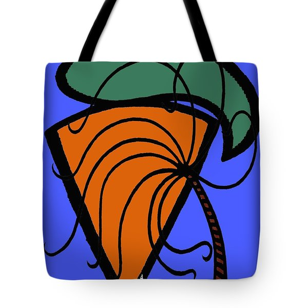 CARROT AND STICK Tote Bag by Patrick J Murphy