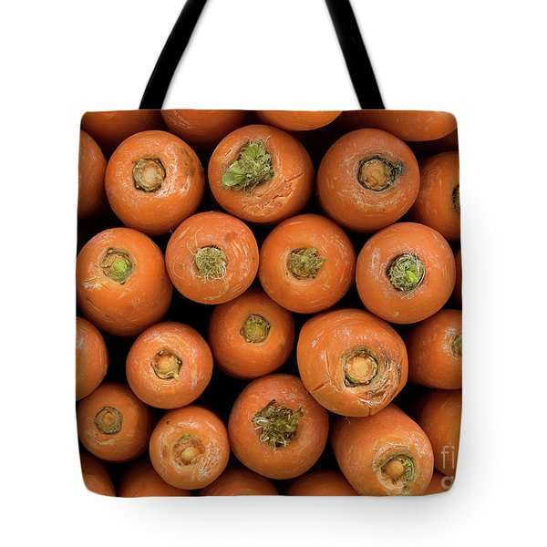 Carrots Tote Bag by Rick Piper Photography