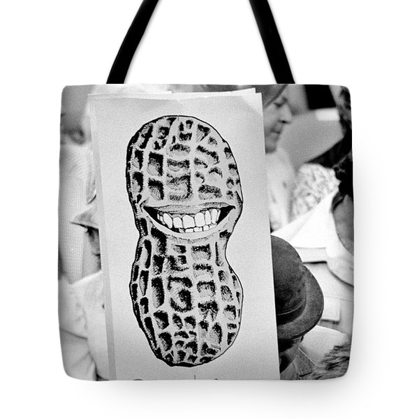 Carter for President Tote Bag by Benjamin Yeager