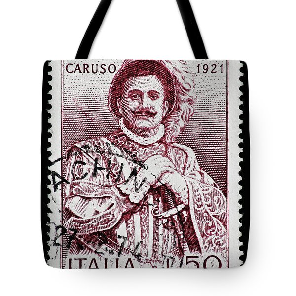 Caruso Tote Bag by Andy Prendy