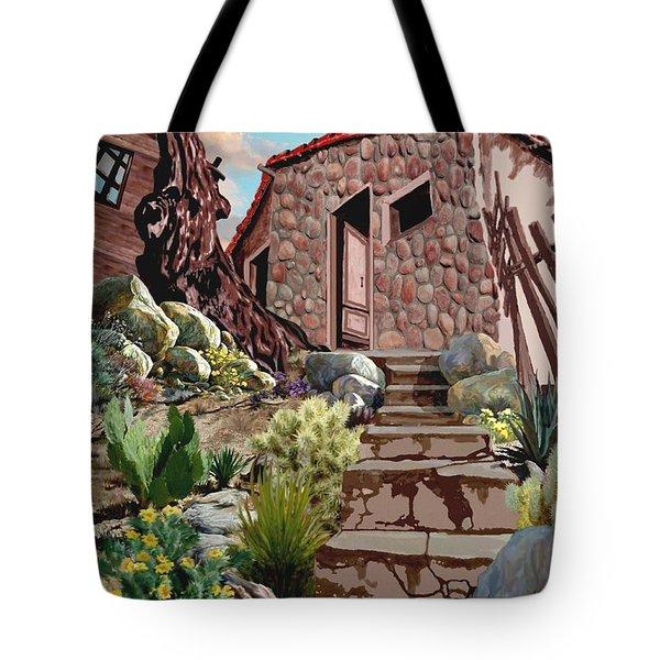 Casa Tijuana Tote Bag by Ronald Chambers