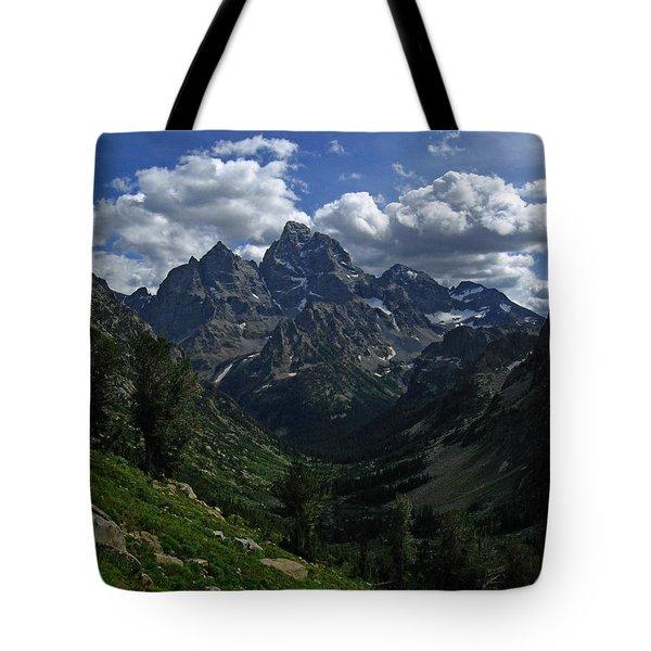 Cascade Canyon North Fork Tote Bag by Raymond Salani III