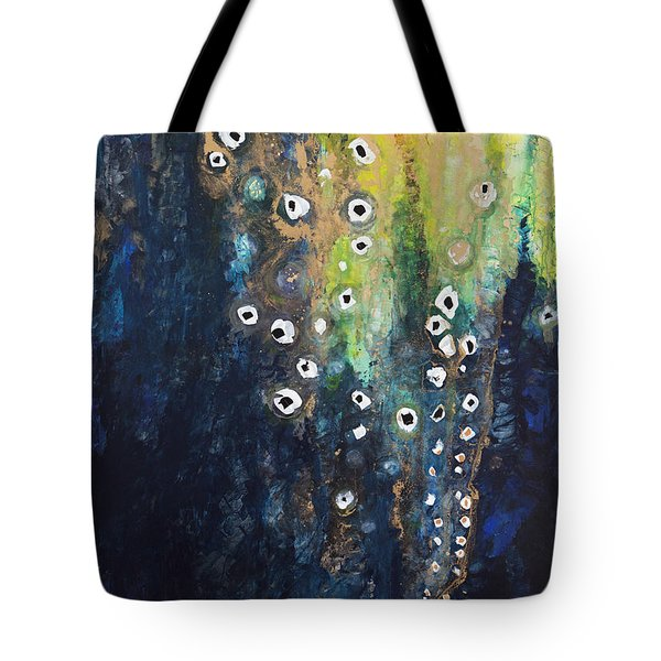 Cascading Colors II Tote Bag by Tara Thelen