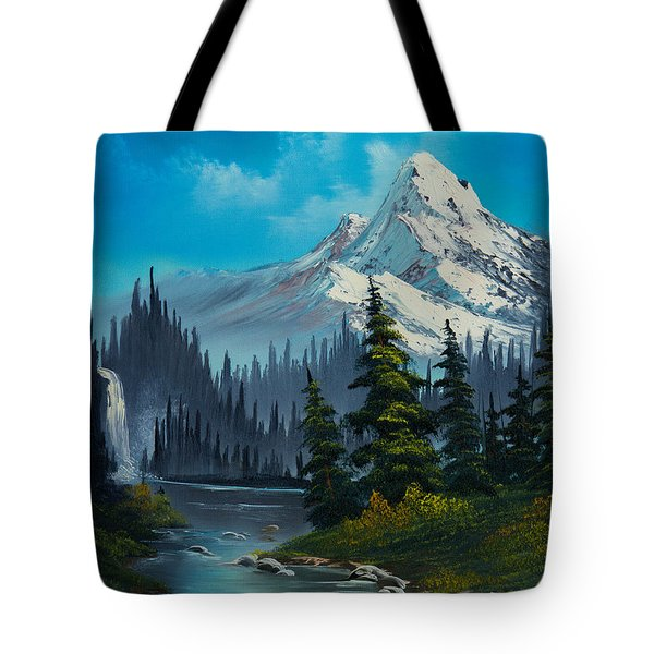 Cascading Falls Tote Bag by C Steele