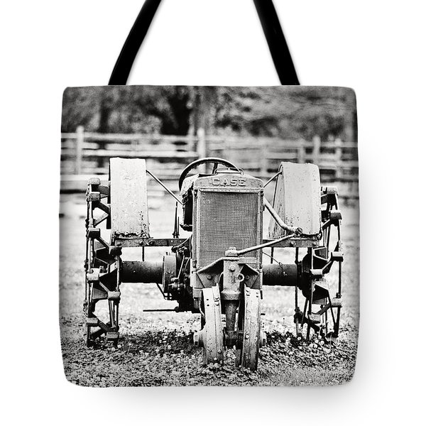 Case Tractor Tote Bag by Scott Pellegrin