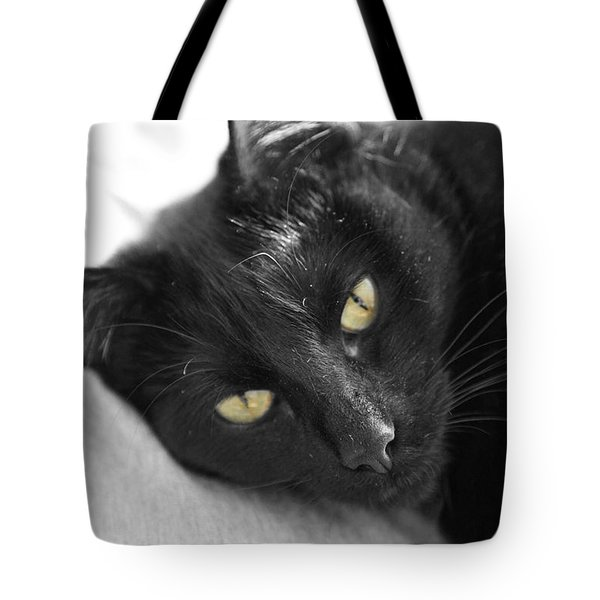 Caspian Tote Bag by Amanda Barcon
