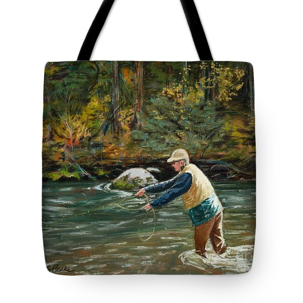 Cast Away Tote Bag by Mary Benke