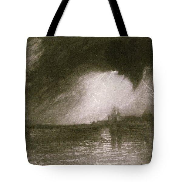 Castania Sicily Tote Bag by Joseph Mallord William Turner