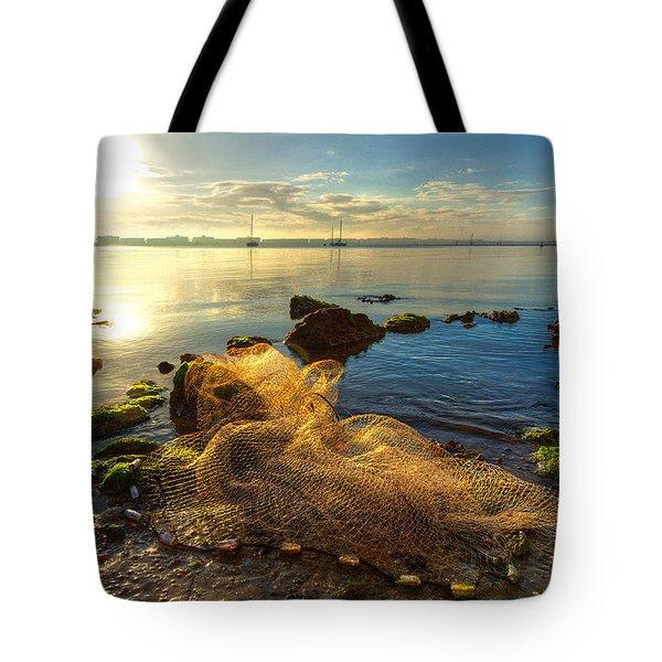 Castaway Tote Bag by Debra and Dave Vanderlaan