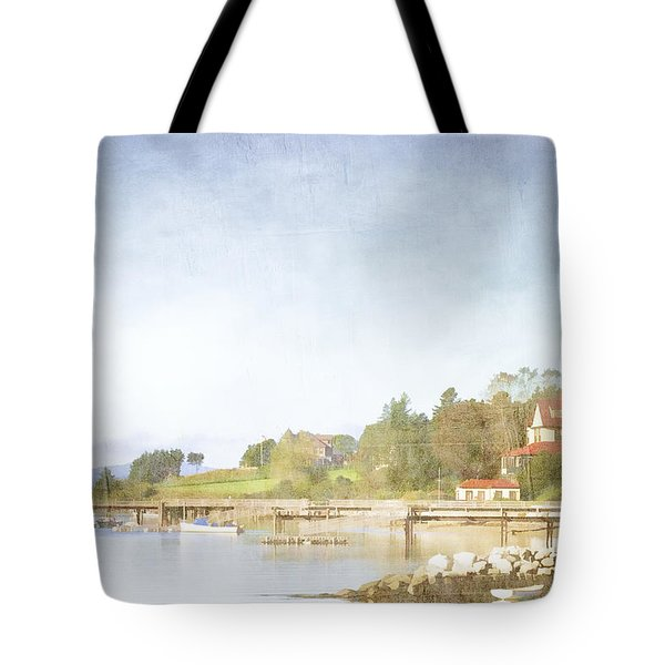Castine Harbor Maine Tote Bag by Carol Leigh