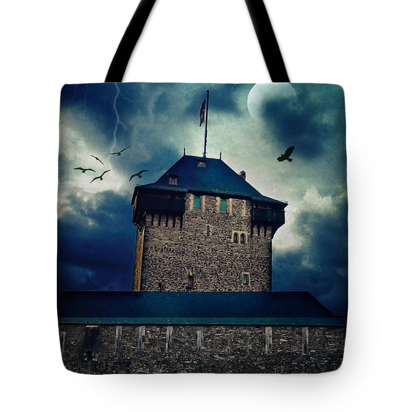 Castle Burg Tote Bag by Angela Doelling AD DESIGN Photo and PhotoArt