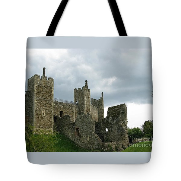 Castle Curtain Wall Tote Bag by Ann Horn