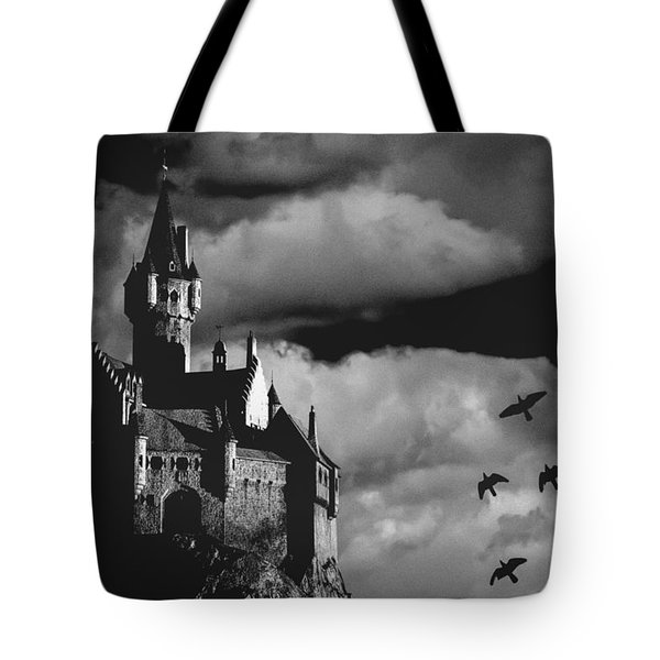 Castle in the sky Tote Bag by Bob Orsillo