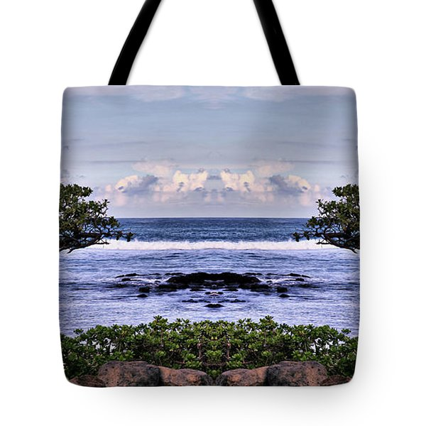 Castle In The Sky Tote Bag by Cheryl Young